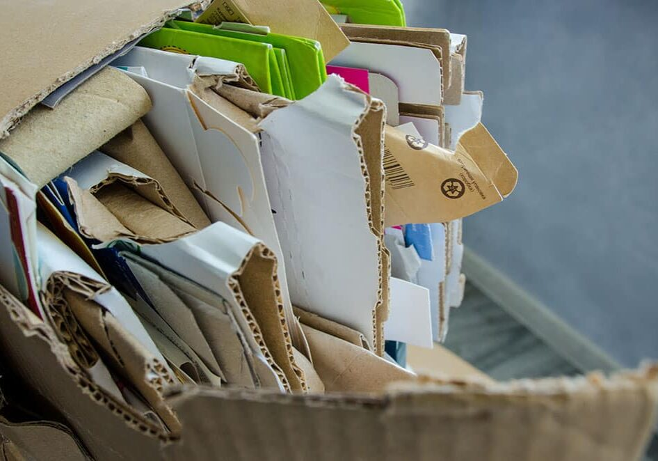 Millier's Quality Recycling Cardboard recycling