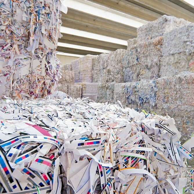 Millier's Quality Recycling Paper recycling