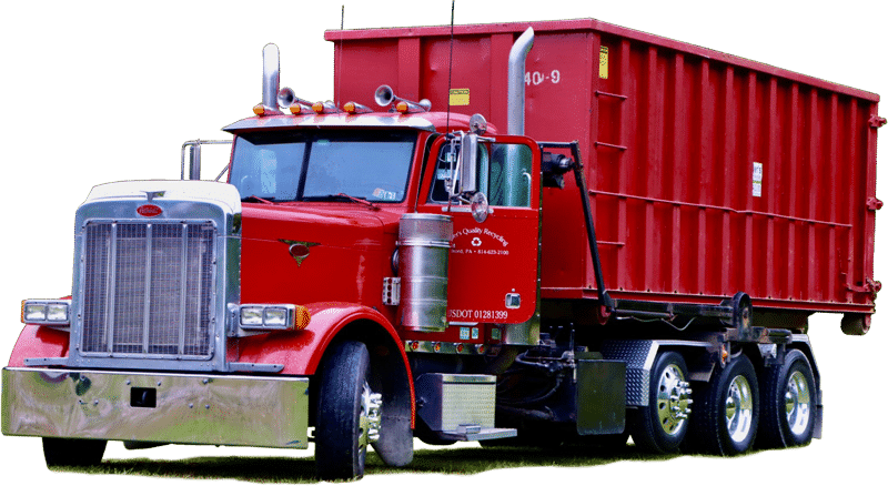 Miller's Quality Recycling truck